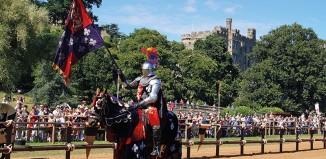 Jousting at Warwick Castle