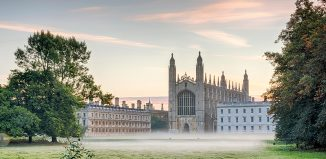 King's College, Cambridge, England. Credit: Julian Eales/Alamy