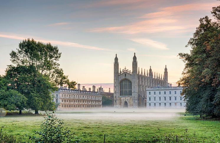 King's College, Cambridge, England. Credit: Julian Eales/Alamy