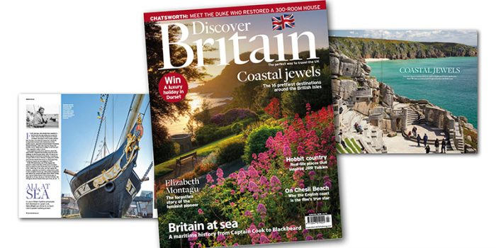 Discover Britain June July Cover Story