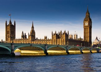 Houses of Parliament, London. Credit: Philip Hall / Alamy
