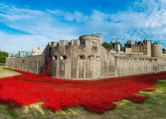 Tower of London, London The original Blood Swept Lands and Seas of Red in 2014