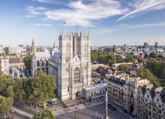 Westminster Abbey, Westminster, London, England. Credit: Copyright: Julian Elliott Photography