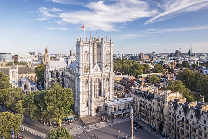 Westminster Abbey, Westminster, London, England. Credit: Copyright: Julian Elliott Photography
