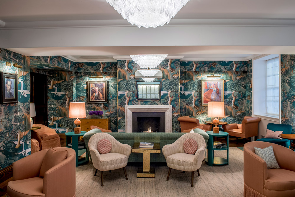 The Sitting Room at the Bloomsbury Hotel, London