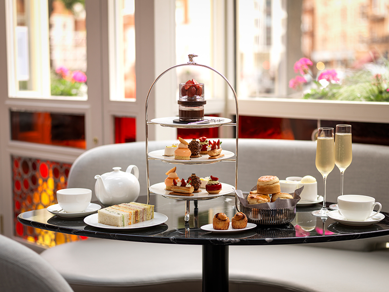 At The Connaught, the pastries are like jewels