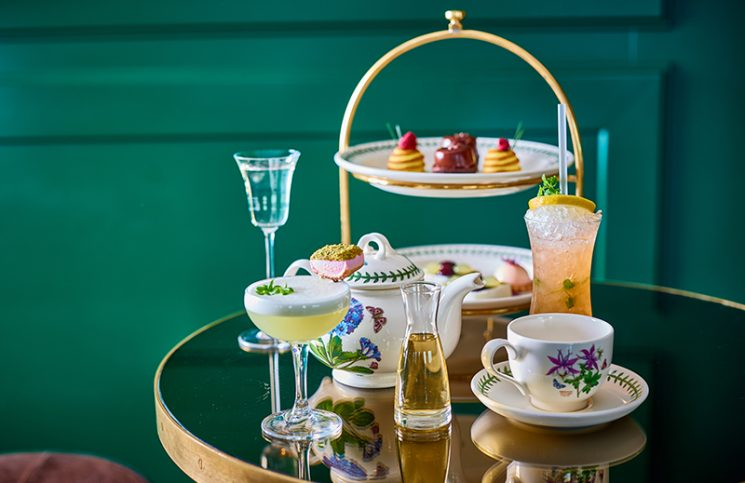Afternoon tea at Mondrian London