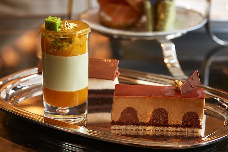 Afternoon tea at The Rosewood