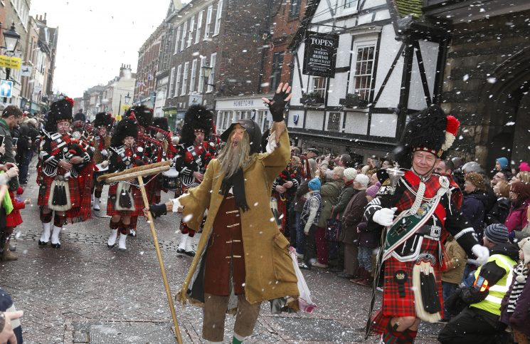 What's on in Britain - December - Dickensian Christmas
